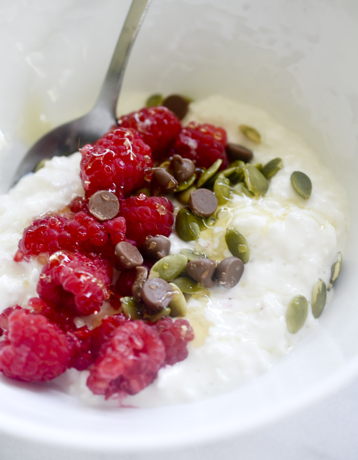 Cottage Cheese Breakfast Bowls