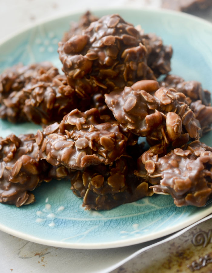 Weight Watchers No Bake Chocolate Peanut Butter Cookie