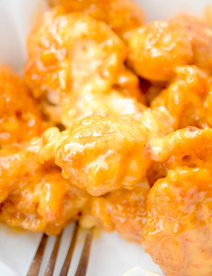 Bang Bang Popcorn Chicken