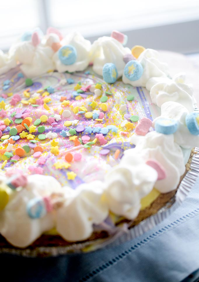 Unicorn cheesecake - the most *-magical-* cheesecake on the Internet!