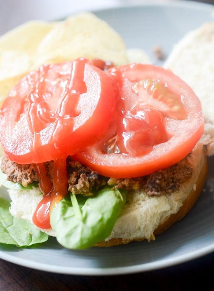 Veggie Taco Burgers