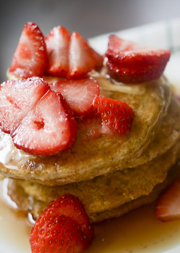 Healthy Oatmeal Pancakes - Dairy Free and Gluten Free