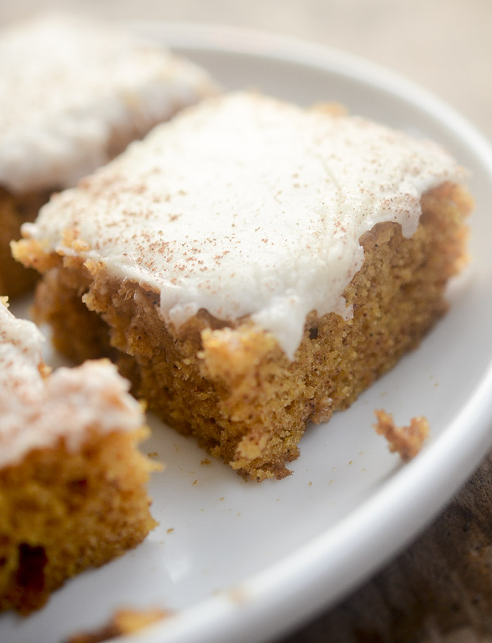 Grandma's Pumpkin Bar Recipe