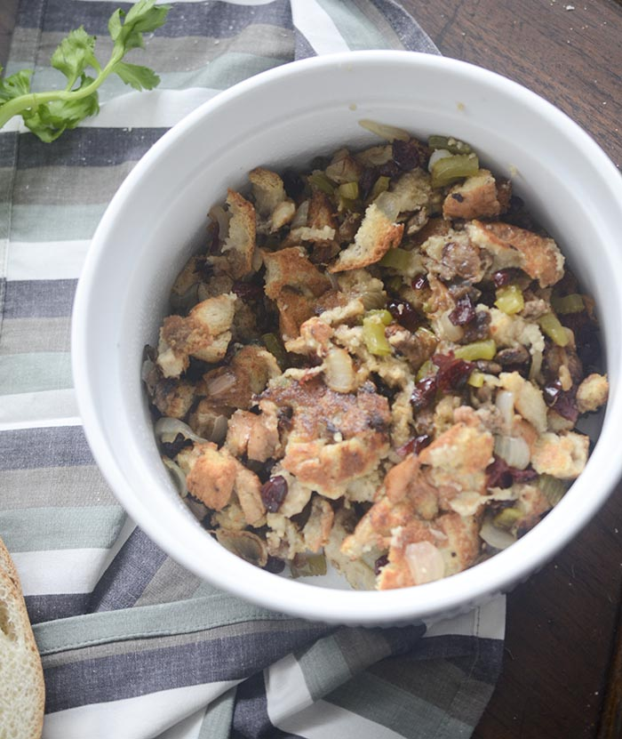 Classic Homemade Turkey Stuffing