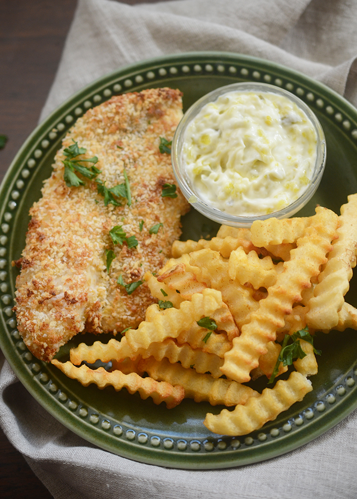 Air Fryer Fish and Chips Healthy