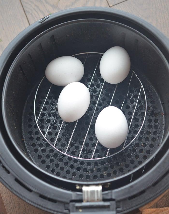 Easy Peel Air Fryer Hard Boiled Eggs Recipe Diaries