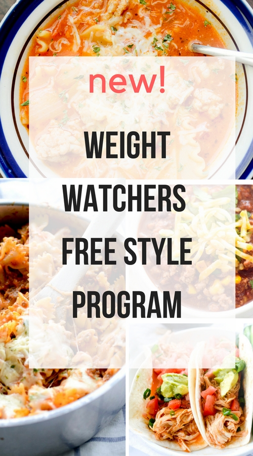 new weight watchers free style program recipe diaries