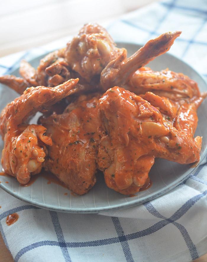 Skinny Air Fryer Buffalo Chicken Wings