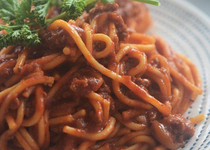 Instant Pot Spaghetti and Meatsauce
