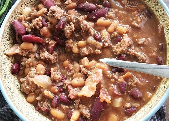 Best Ever Slow Cooker Calico Beans