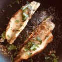 Pan Seared Walleye (Lemon Pepper)