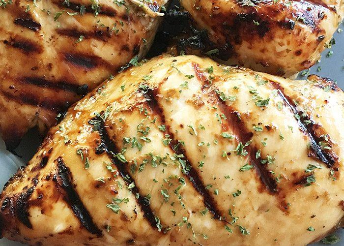 Easy 3 Ingredient  Grilled Chicken Marinade