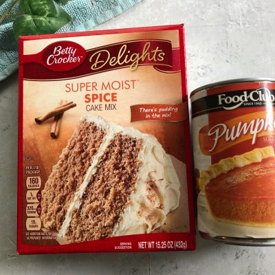 5 Easy Recipes with Cake Mix and Canned Pumpkin