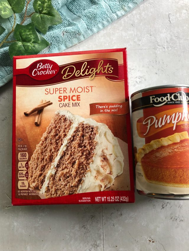 5 Recipes You can Make with Cake Mix and Canned Pumpkin