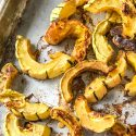 Maple Roasted Delicata Squash