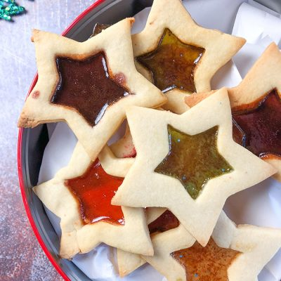 Stained Glass Window Cookies