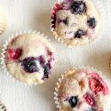 Mixed Lemon Berry Muffins