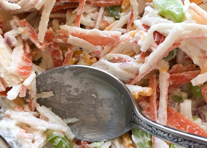 Imitation Crab Salad- just like at the deli counter!