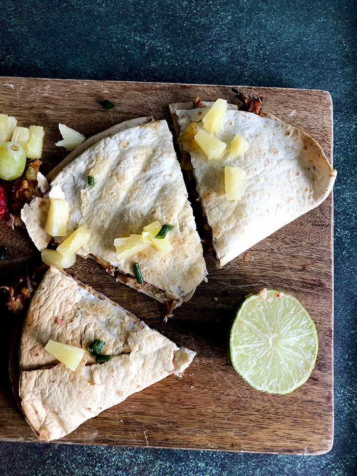 Air Fryer Chicken Quesadillas