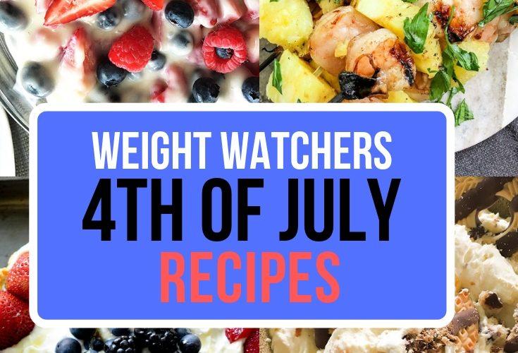 WW 4th of July Recipes