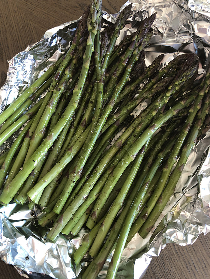 Smoked Asparagus Recipe Diaries