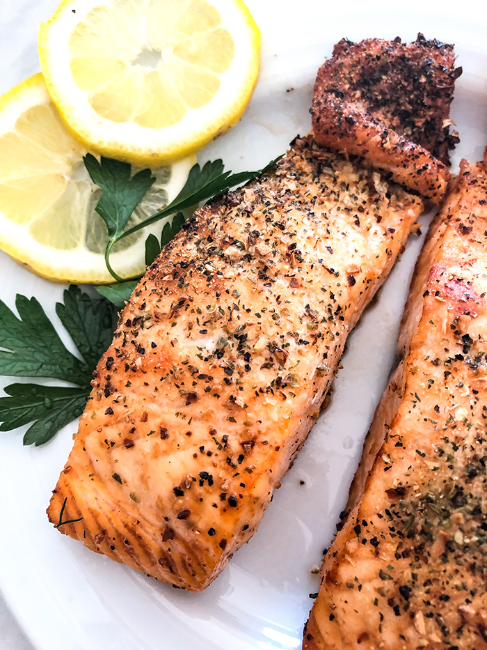 Cook Salmon in Air Fryer