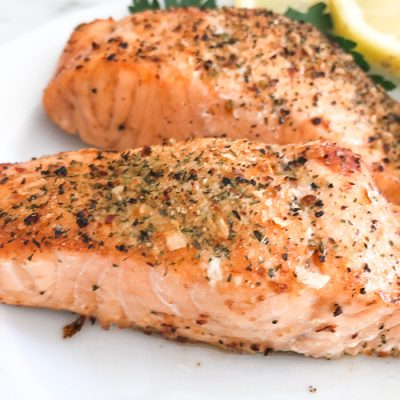Cooking Salmon in Air Fryer