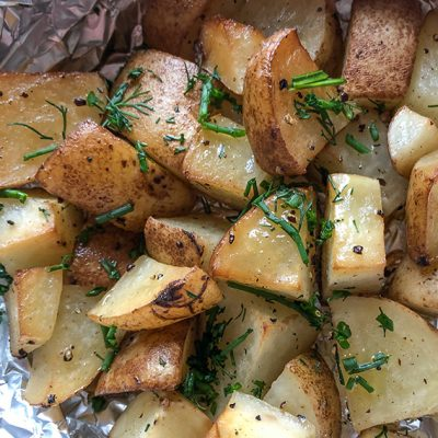 Traeger Smoked Potatoes in Foil – Delicious and easy!