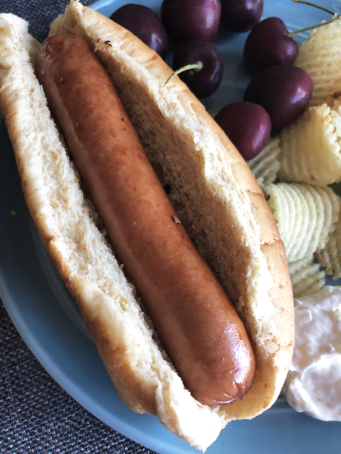 Hot Dogs in Air Fryer