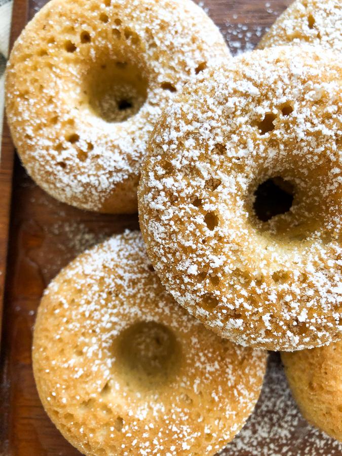 Plain Baked Donut