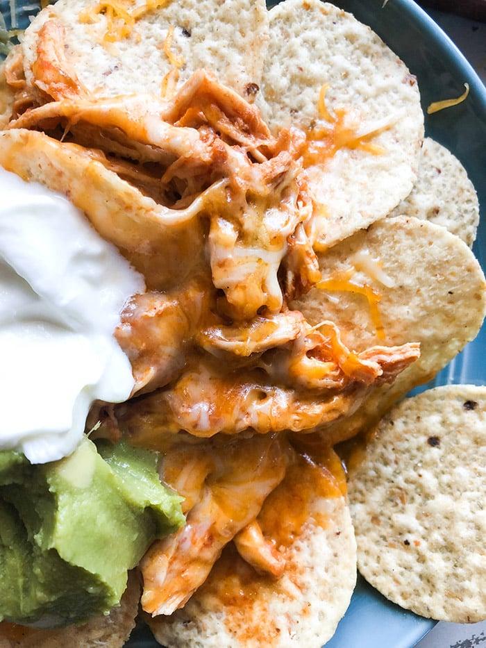 Salsa Chicken Nachos