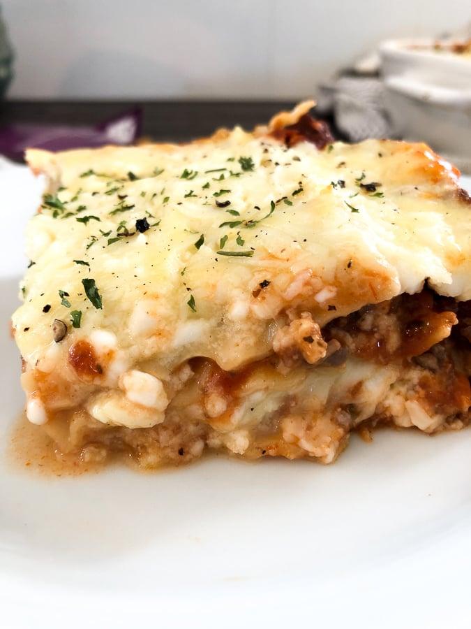 Lasagna Recipe for 2 servings