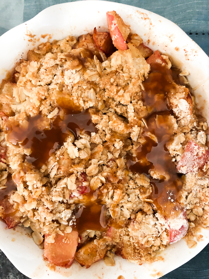 Apple Crisp in Air Fryer