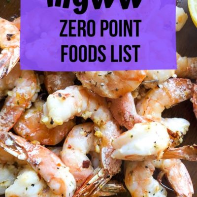 myWW Purple Zero Point Food List