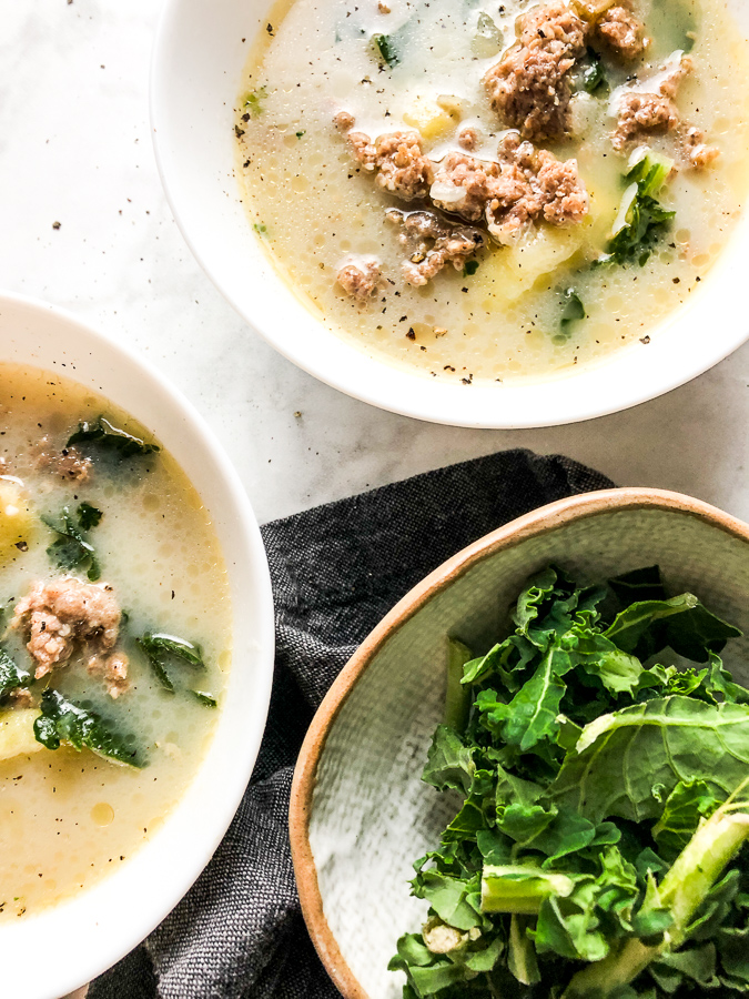 Zuppa Toscana Soup Olive Garden Copy Cat