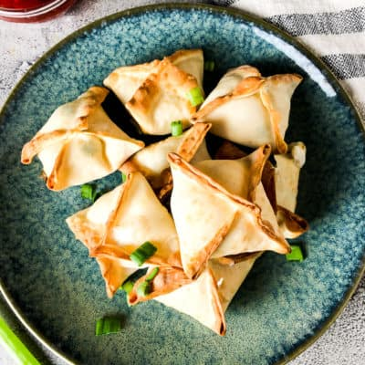 Air Fryer Crab Rangoons
