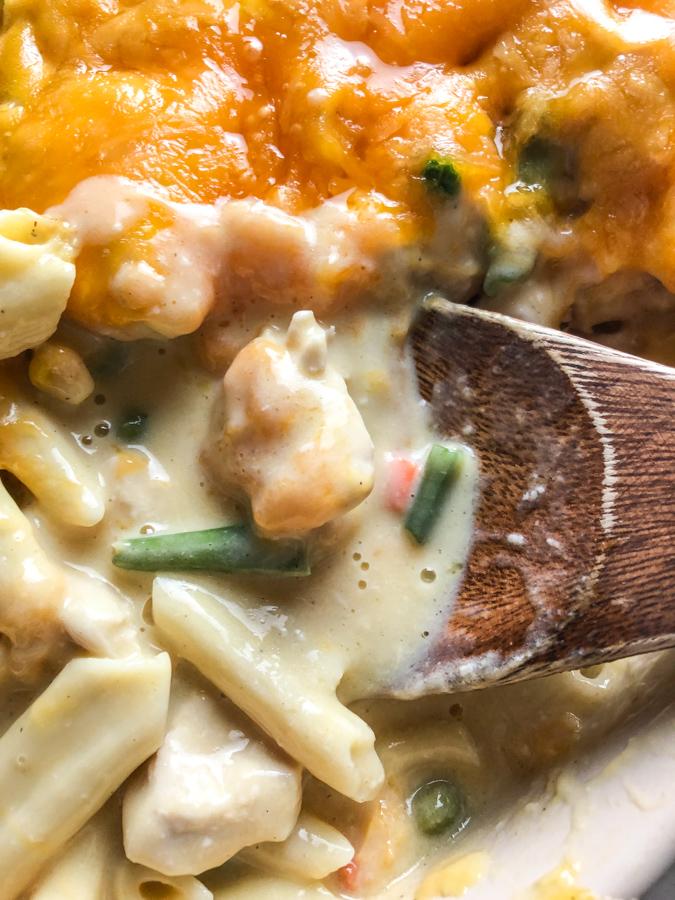 Chicken Noodle Casserole Dish