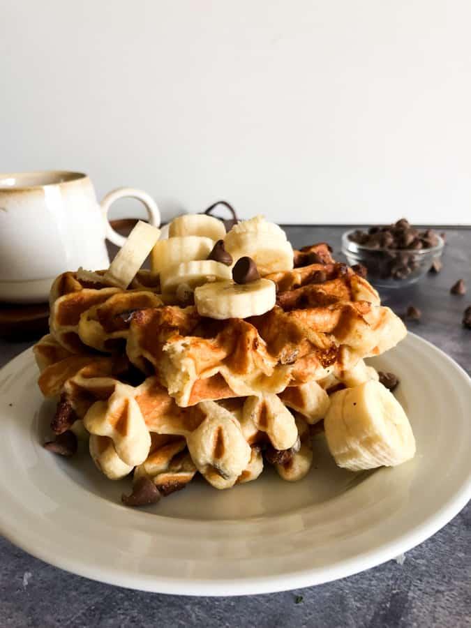 Banana Bread Waffle Recipe