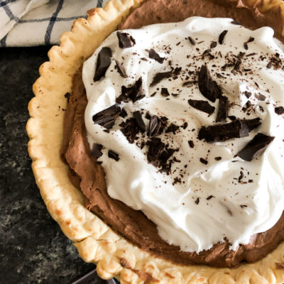 Joanna Gaines French Silk Pie