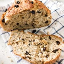 No Knead Cinnamon Raisin Bread Recipe Diaries