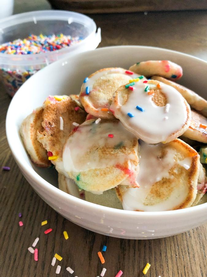 Cake Batter Pancake Cereal