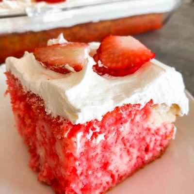 Strawberry Poke Cake
