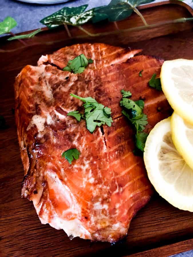 Spicy Honey Soy Glazed Salmon