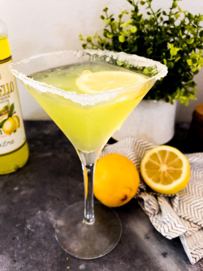 Limencello Martini