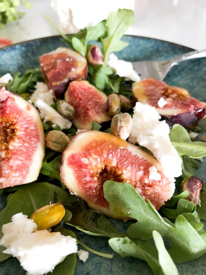 Honey Grilled Fig Salad