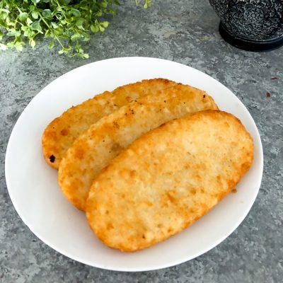 Air Fryer Hash Browns (frozen hash brown patties)