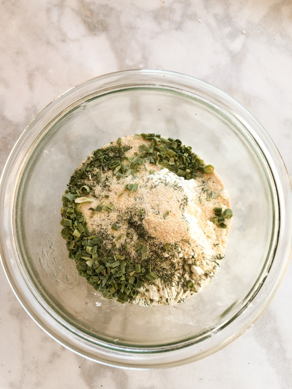 Homemade Ranch Dressing with Dry Seasoning Mix