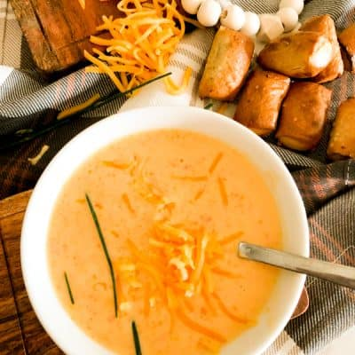 Best Ever Beer Cheese Soup